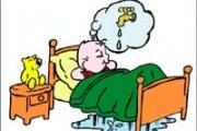 Quando il letto si bagna un po' spesso...